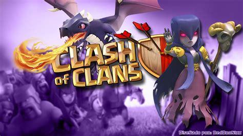 wallpaper keren coc hd clash of clans dragon wallpaper www pixshark com