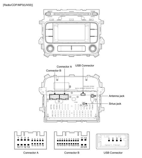 kia sportage electrical diagram wiring diagram manual