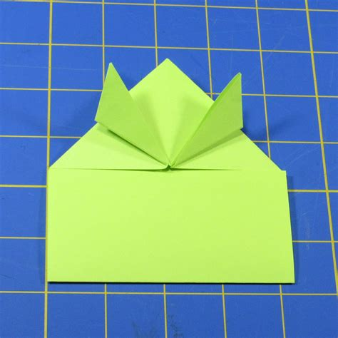 jumping origami fold up a jumping origami frog with led make