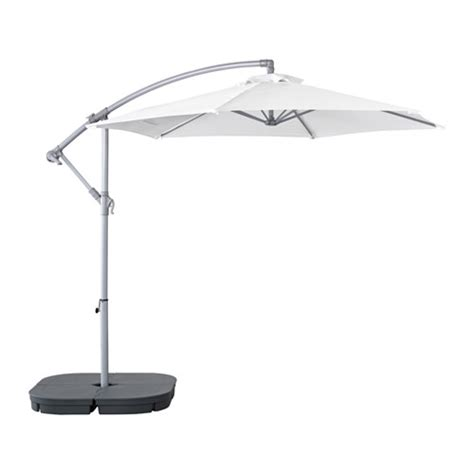 Ikea Patio Umbrellas Bagg 214 N Svart 214 Hanging Umbrella With Base Ikea