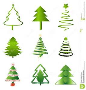 christmas trees stock photography image 34551132