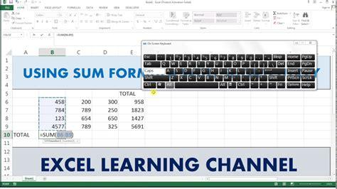 Copenhagen To Queue For Shortcut 6 by Sum Shortcut Key In Excel