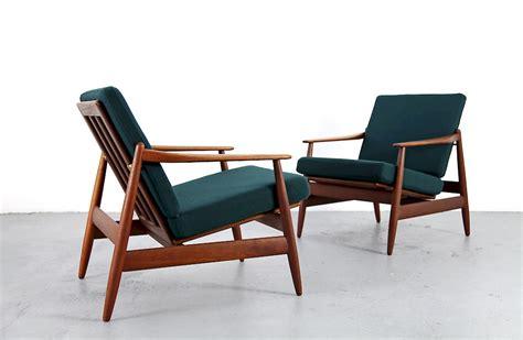 teak easy chair with kvadrat fabric by hans nr 1 - Teak Sessel