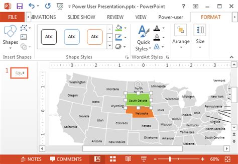 us map excel template make powerpoint more powerful with power user add in