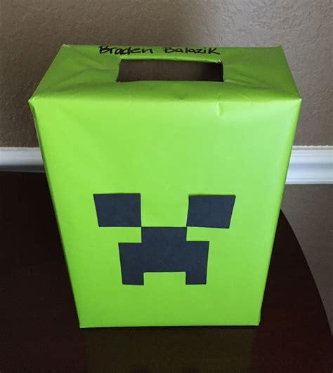 minecraft box minecraft creeper box stuff