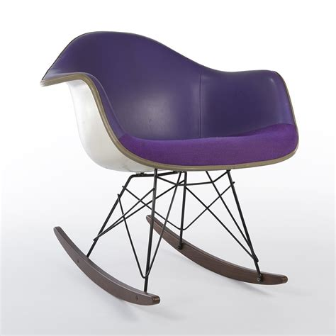 Purple Rocking Chair by Purple Rar Rocking Chair From The Seventies By Charles Eames Girard For Herman