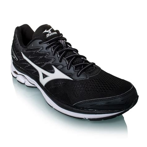 mizuno wave rider mens running shoes mizuno wave rider 20 mens running shoes black white