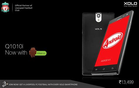 new android update xolo q1010i android 4 4 2 kitkat update now rolling out phonebunch