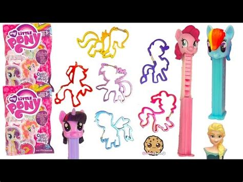 mlp iconi clips complete set , my little pony blind bag