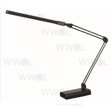 lux led desk l lux flex 4 watt led desk lamp black