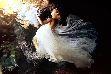 trash the dress archives del sol photography how to rock your cenote trash the dress photo shoot