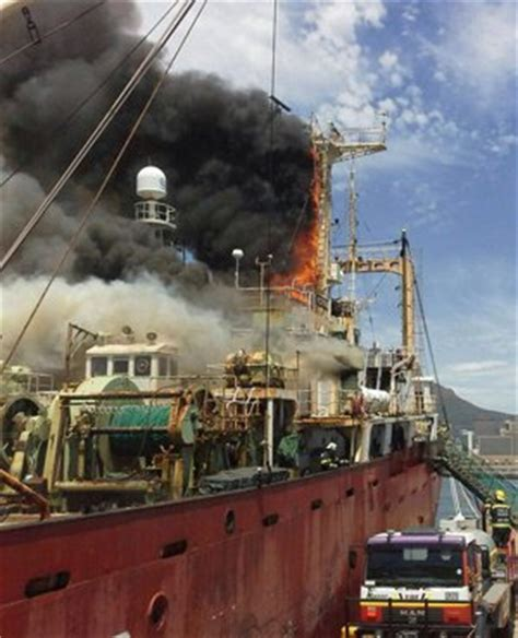 fishing boat jobs in cape town fire destroys trawler in cape town