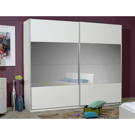 White Gloss Sliding Door Wardrobe by Optimus Large White Gloss Wardrobe With Sliding Doors