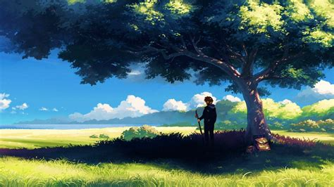 anime landscape android wallpaper anime scenery wallpapers wallpaper cave