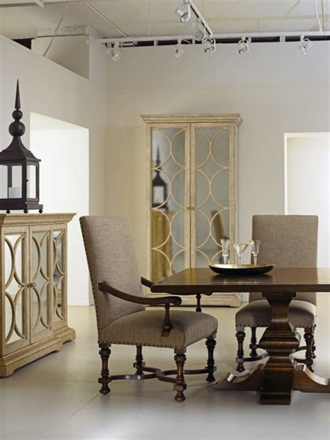 mirrored dining room bernhardt furniture