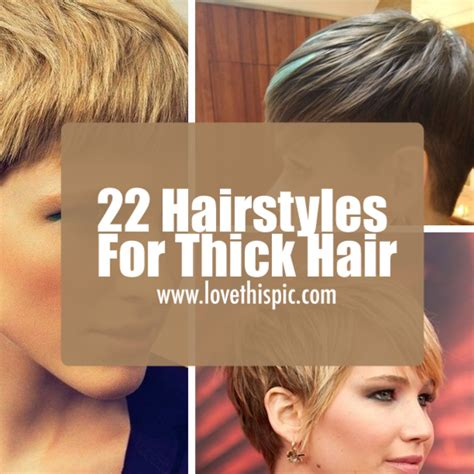 22 hairstyles for medium thick 22 hairstyles for thick hair