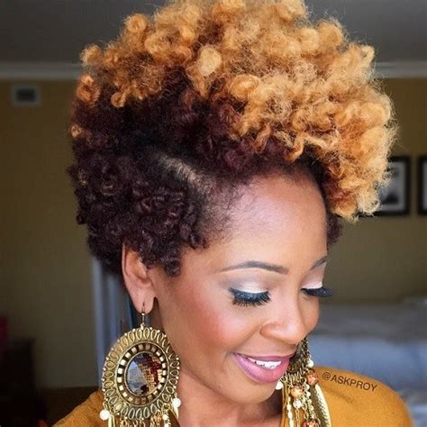 2 toned colored natural afirican american styles 75 most inspiring natural hairstyles for short hair in 2017