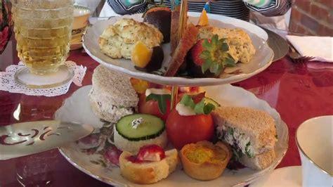 lauras tea room high tea offering at s tea room in ridgeway south carolina