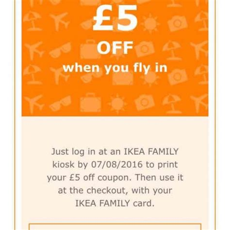 voucher ikea free 163 5 voucher with ikea family with no minimum spend