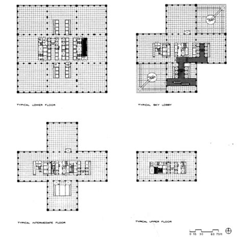 willis tower floor plan bruce graham and fazlur khan som sears tower corporate