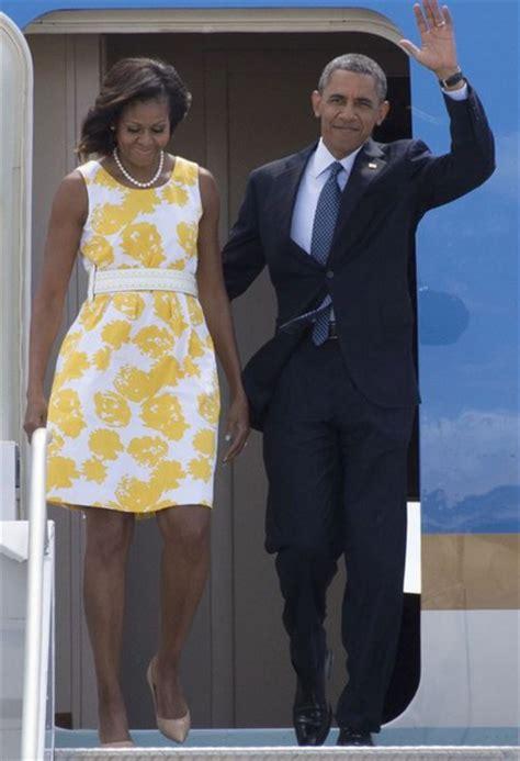 michelle obama yellow michelle obama yellow dress photo album best fashion