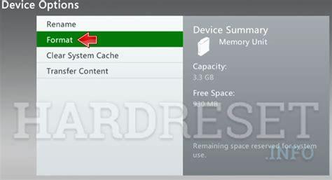 reset xbox online password microsoft xbox 360 e clear system cache hardreset info