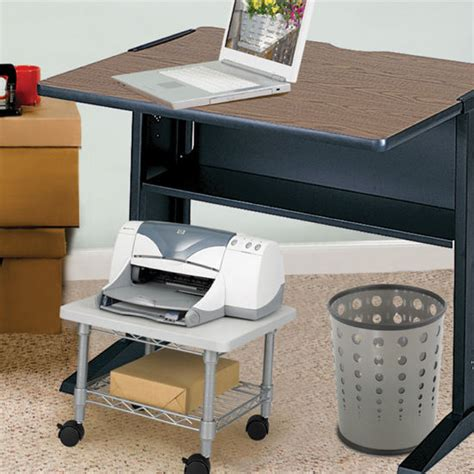 office furniture printer stand office furniture underdesk printer fax stand by safco available in different finishes