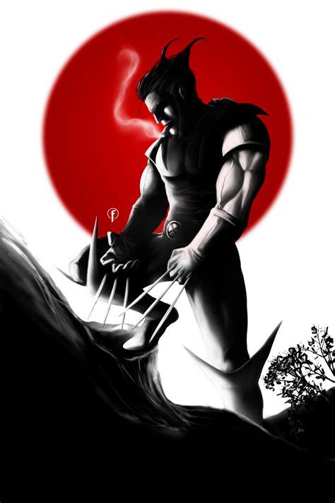 twelve bloody amazing fan posters   wolverine