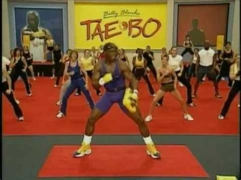tae bo billy banks billy blanks taebo advance 1 mp4 exercise