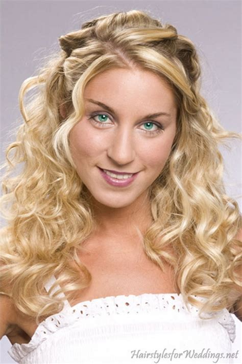 wedding hairstyles curls down down curly hairstyles for weddings