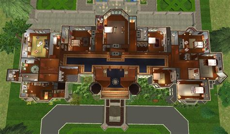House Plans With 5 Bedrooms Mod The Sims Hatley Castle Victoria B C No Cc