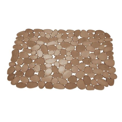 sink mats home depot interdesign 11 75 in pebblz large sink mat in 60662
