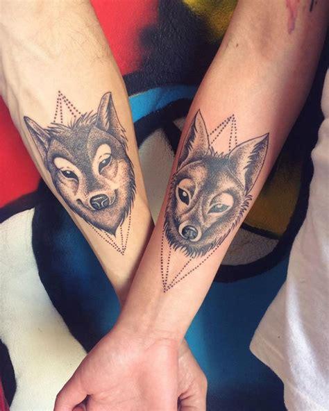 wolf tattoo designs for couples 18 couple tattoo designs ideas design trends premium