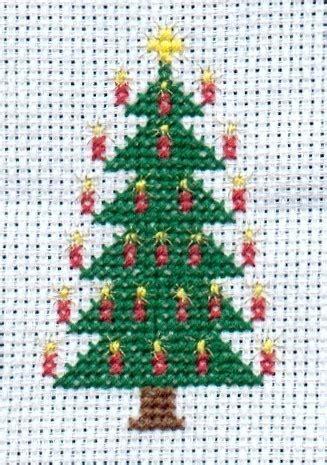 cross stitch christmas tree   cross stitch art