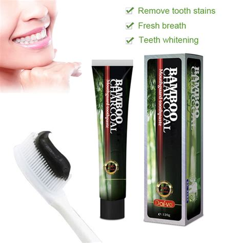 bamboo charcoal toothpaste oral health care teeth