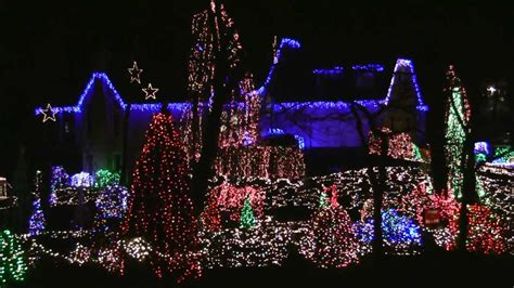 christmas light display 1601 collingwood drive alexandria