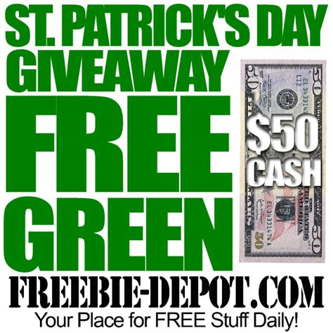 Free Ways To Win Money - free st patrick s day giveaway free 50 cash for st