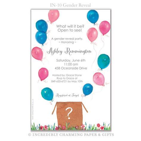 blank printable invitations gender reveal imprintable invitation