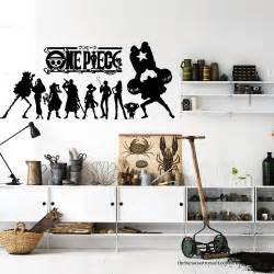 Anime Wall Stickers Onepiece Japanese Anime Wall Decal Stickers Decor Modern