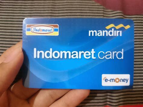 membuat kartu e toll memiliki indomaret card