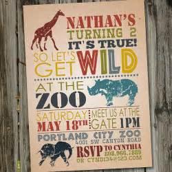 safari birthday invitation zoo birthday invitation zoo