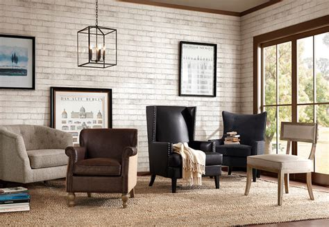 Living Room Arm Chair Design Ideas Living Room Ideas Living Room Accent Chair Black Adorable Leather Wingback Arm Chair With
