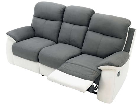 canape cuir electrique 3 places canap 233 cuir relax electrique 3 places conforama canap 233