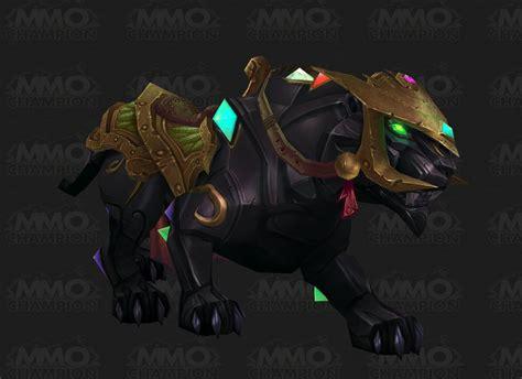 Jade Panther Mats by Pantera De 243 Con Joyas Hechizo World Of Warcraft