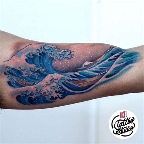 35 wave tattoo design ideas nenuno creative