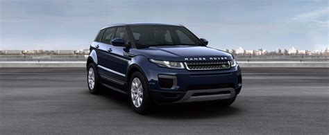range rover blue and white range rover evoque convertible colours prices carwow