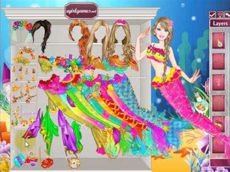 barbie mermaid dress up games barbie mermaid princess dress up online girl game youtube
