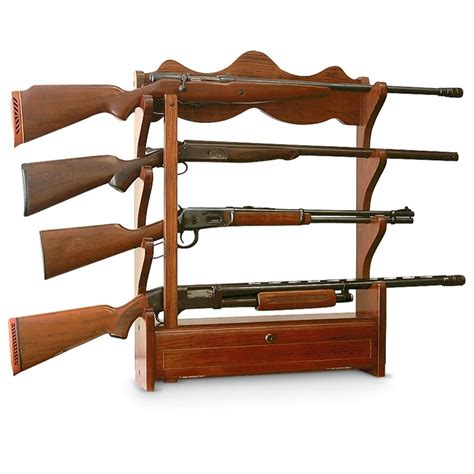 Gun Racks by American Furniture Classics 174 4 Gun Wall Rack 191217