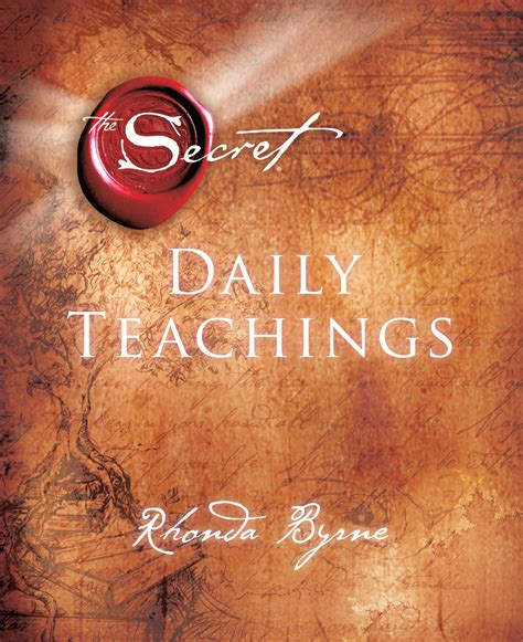 secret book the secret daily teachings book by rhonda