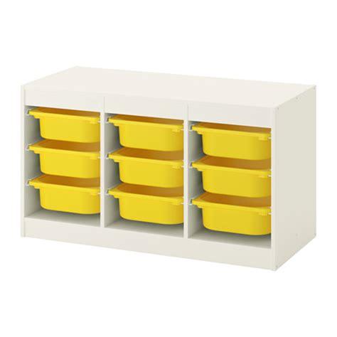trofast storage combination ikea 117 99 article number trofast storage combination with boxes white yellow
